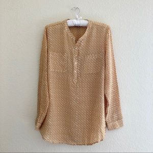 Lucky Brand Long-Sleeved Blouse